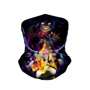 Acnologia Natsu Dragneel Dragon Slayer Fairy Tail Neck Gaiter Bandanna Scarf Default Title Official Fairy Tail Merch