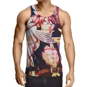 Dragneel Natsu Fairy Tail Fairy Tail Tank Top XXS / Multi-color Official Fairy Tail Merch