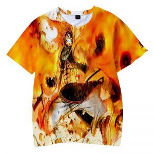 Dragon Slayer Natsu Dragneel Dragon Slayer Fire Fist Fairy Tail T-shirt XXS Official Fairy Tail Merch