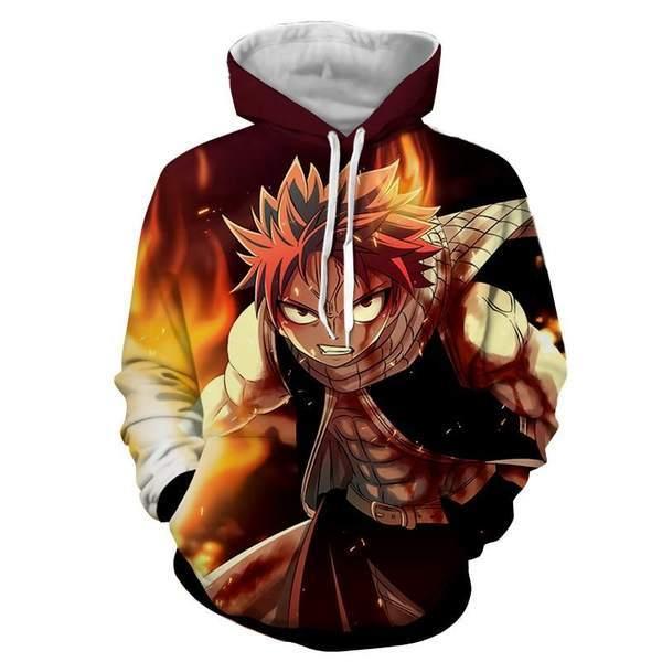 Dragon Son Natsu Fairy Tail Hoodie XXS Official Fairy Tail Merch