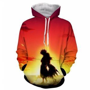 Dragon Son Natsu Dragneel Etherious Light  Fairy Tail Hoodie XXS Official Fairy Tail Merch