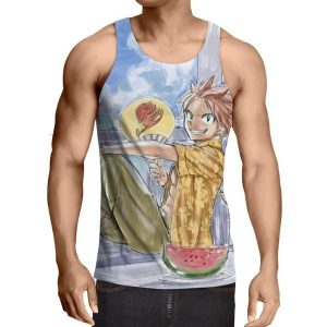 Drawing Natsu Fairy Tail Fairy Tail Tank Top XXS / Multi-color Official Fairy Tail Merch