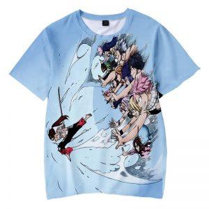 Erza Scalert Power Up Clouds Queen Titania Fairy Tail T-shirt XXS Official Fairy Tail Merch