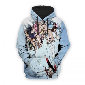 Fairy Tail Guild Magnolia Fun Art Cool Fairy Tail Hoodie XS Official Fairy Tail Merch