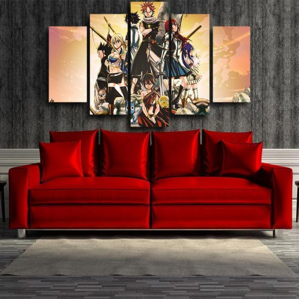 Pheonix Priestess Fairy Tail Canvas 3D Printed S / Framed Official Fairy Tail Merch
