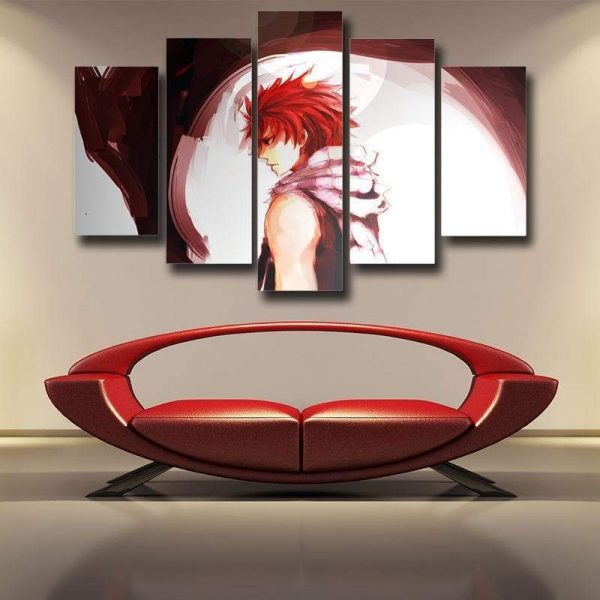 Fairy Tail 3D Printed Sad Natsu Canvas S / Framed Official Fairy Tail Merch