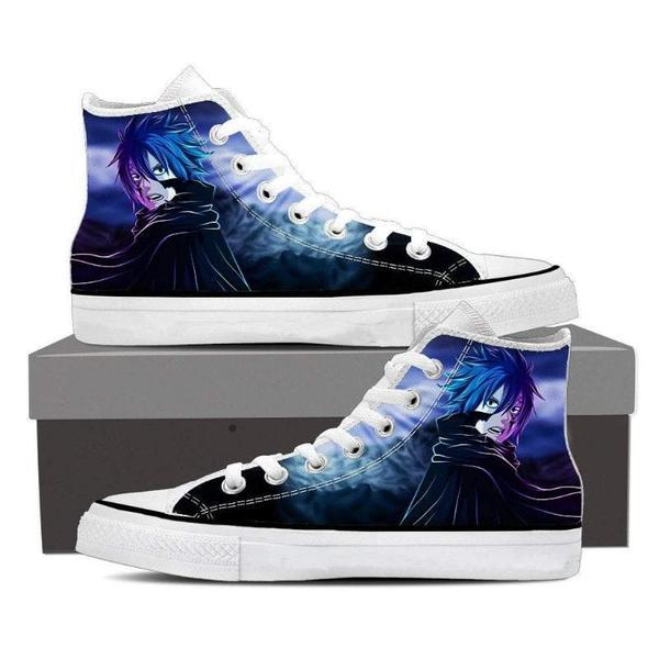 Magnolia Customized Blue Jellal Fernandes Fairy Tail Sneaker Shoes 5 Official Fairy Tail Merch