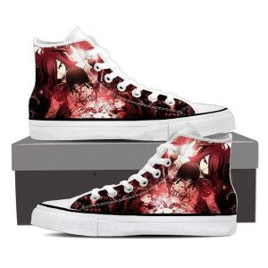 Hip Hop Club Magnolia Customized Hot Erza Scarlet Fairy Tail Sneaker Shoes 5 Official Fairy Tail Merch
