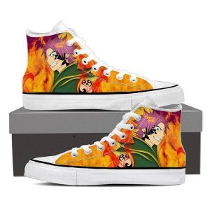 Natsu Dragneel Pirate Magnolia Customized  Fairy Tail Sneaker Shoes 5 Official Fairy Tail Merch