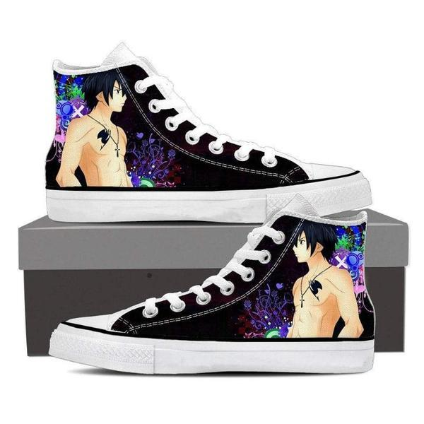 Cosmos Magnolia Customized Gray Fullbuster Fairy Tail Sneaker Shoes 5 Official Fairy Tail Merch