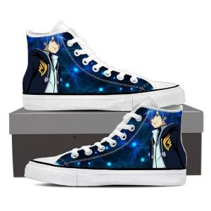 Blue Magnolia Customized Jellal Fairy Tail Sneaker Shoes 5 Official Fairy Tail Merch