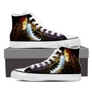 Magnolia Customized Laxus Sting Fur Fairy Tail Sneaker Shoes 5 Official Fairy Tail Merch