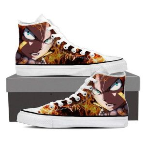 Dragon Fire Natsu Magnolia Customized 3D Printed Fairy Tail Shoes 5 Official Fairy Tail Merch