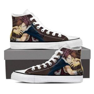 Ninja Style Natsu Magnolia Customized 3D Printed Fairy Tail Shoes 5 Official Fairy Tail Merch