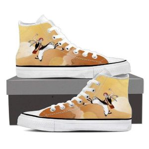 Brown Fairy Tail Magnolia Customized 3D Printed Natsu Shoes 5 Official Fairy Tail Merch
