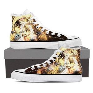 Natsu Hip Hop Magnolia Customized 3D Printed Happy Fairy Tail Shoes 5 Official Fairy Tail Merch
