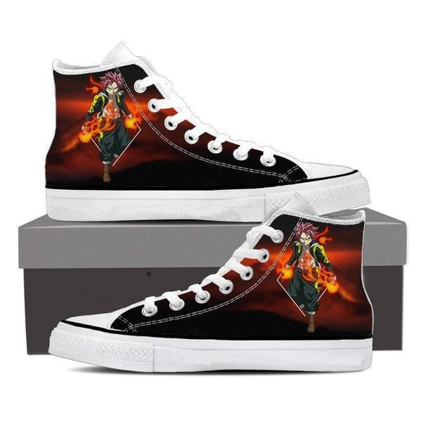 Natsu Black Magnolia Customized 3D Printed Fairy Tail Shoes 5 Official Fairy Tail Merch