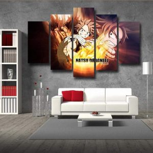 Fairy Tail Dragneel Natsu  Canvas S / Framed Official Fairy Tail Merch