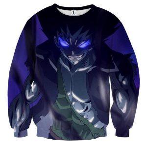 Fairy Tail Iron Dragon Gajeel Fairy Tail Sweatshirt XXS Official Fairy Tail Merch