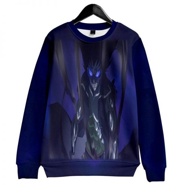 Gajeel Redfox Blue Steel Dragon Slayer Fairy Tail Sweatshirt XXS Official Fairy Tail Merch