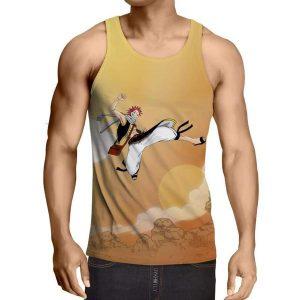 Natsu Hip Hop Desert Fairy Tail 3D Printed Tank Top XXS / Multi-color Official Fairy Tail Merch