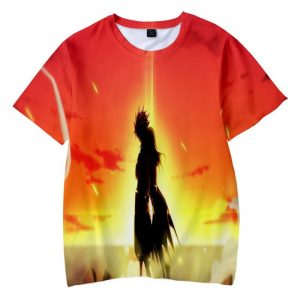 Natsu Dragneel Reversible Embossed Dragon Slayer Fire Fairy Tail T-shirt XXS Official Fairy Tail Merch
