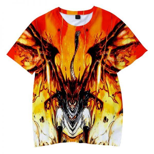 Natsu Dragon Empyrean Blend Dragon Slayer Fire Fairy Tail T-shirt XXS Official Fairy Tail Merch