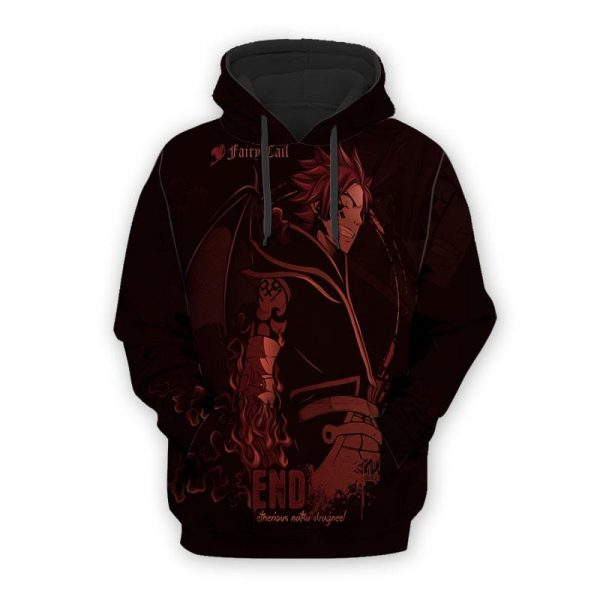 Fairy Tail Etherious Natsu Dragneel Dragon Crossover Fairy Tail Hoodie XXS Official Fairy Tail Merch