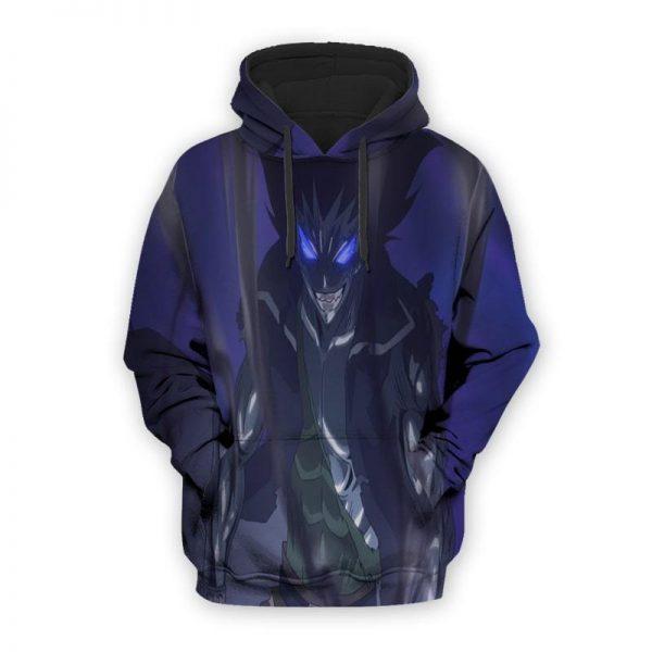 Gajeel Iron Dragon Slayer Purple Glow Cool Fairy Tail Hoodie XXS Official Fairy Tail Merch