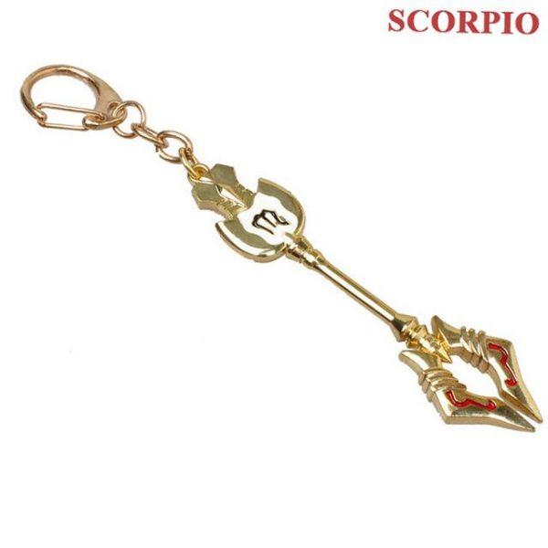 accessory fairy tail keychain zodiac celestial spirit gate keys 13 - Fairy Tail Store