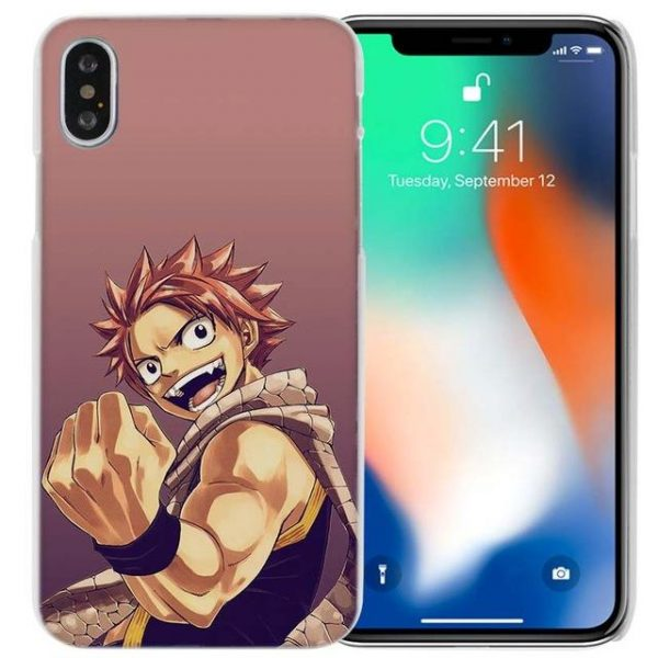 Natsu Fist Fairy Tail iPhone Case フェアリーテイル Apple iPhones for iPhone 4 4S / Pink Official Fairy Tail Merch