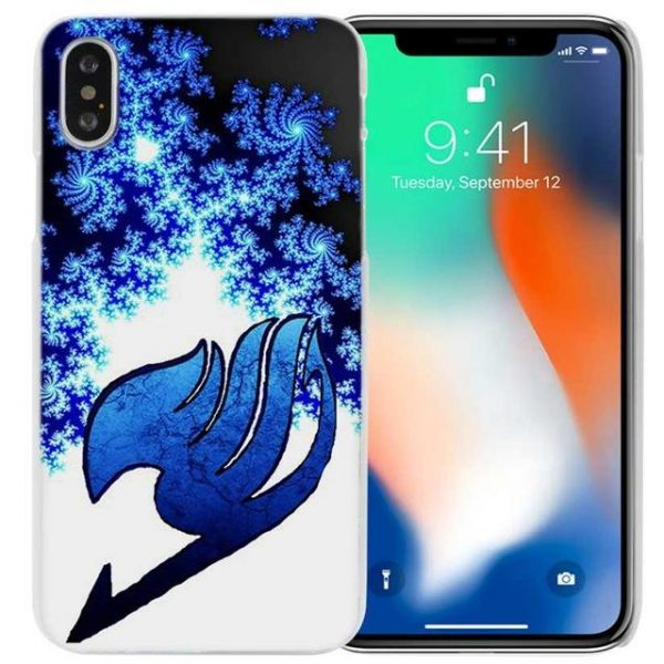 Snowflake Fairy Tail iPhone Case フェアリーテイル Apple iPhones for iPhone 4 4s / Blue Official Fairy Tail Merch