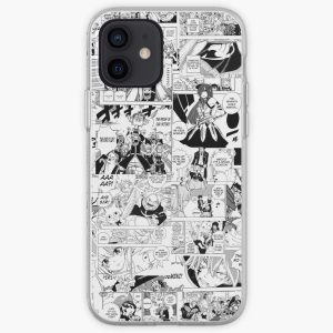Fairy Tail Collage  iPhone Soft Case RB0607 product Offical Fairy Tail Merch