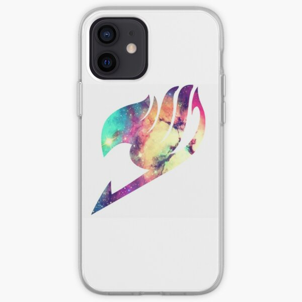 Fairy Tail: Galaxy Logo iPhone Soft Case RB0607 product Offical Fairy Tail Merch