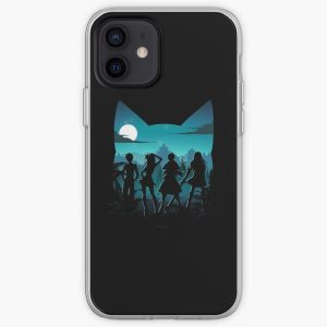 Happy Silhouette iPhone Soft Case RB0607 product Offical Fairy Tail Merch