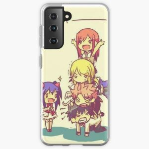 Chibi Fairy Tail Samsung Galaxy Soft Case RB0607 product Offical Fairy Tail Merch