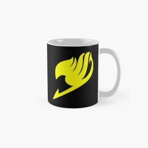 Fairy Tail Logo (Yellow) Classic Mug RB0607 product Offical Fairy Tail Merch