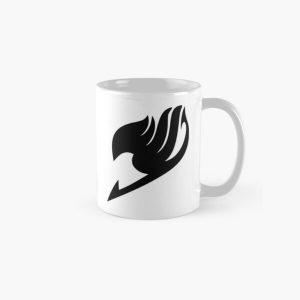 Fairy Tail Logo (Black) Classic Mug RB0607 product Offical Fairy Tail Merch