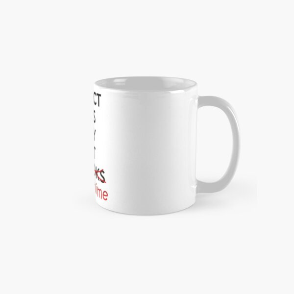 Perfect boys only exist in ANIME. Classic Mug RB0607 product Offical Fairy Tail Merch