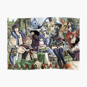 Fairy Tail 4 Poster RB0607 product Offical Fairy Tail Merch