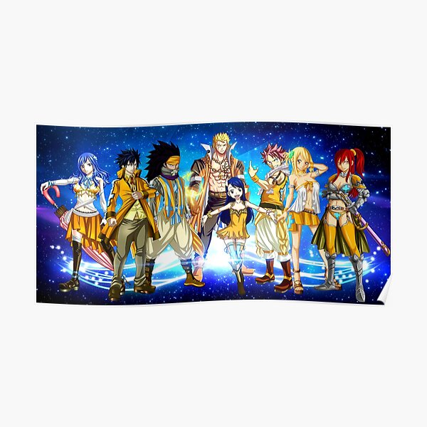 Fairy tail Poster RB0607 product Offical Fairy Tail Merch