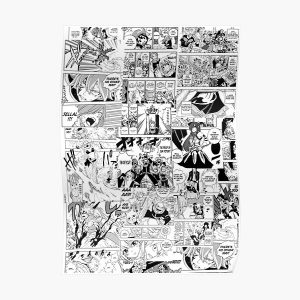 Fairy Tail Collage  Poster RB0607 product Offical Fairy Tail Merch