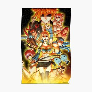 Celestial Wizard Lucy Poster RB0607 product Offical Fairy Tail Merch
