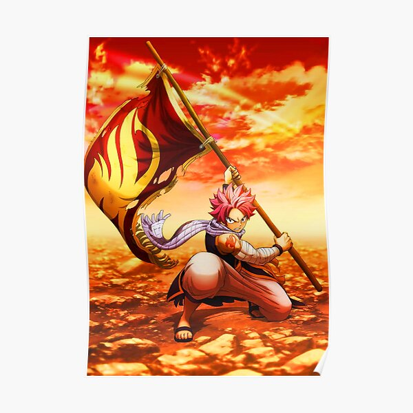 Natsu Fairy Tail Poster RB0607 product Offical Fairy Tail Merch