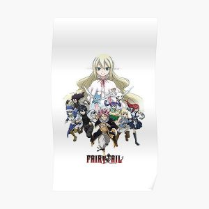 Fairy tail Team! Poster RB0607 product Offical Fairy Tail Merch
