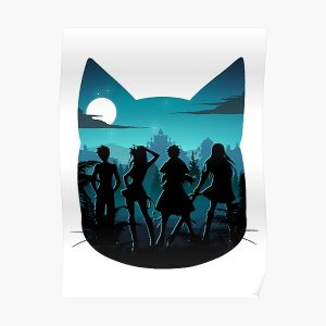 Happy Silhouette Poster RB0607 product Offical Fairy Tail Merch
