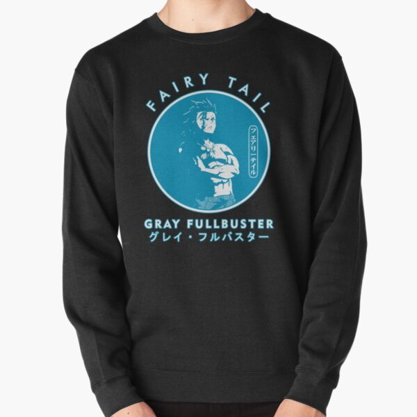 GRAY FULLBUSTER IN THE COLOR CIRCLE  Pullover Sweatshirt RB0607 product Offical Fairy Tail Merch