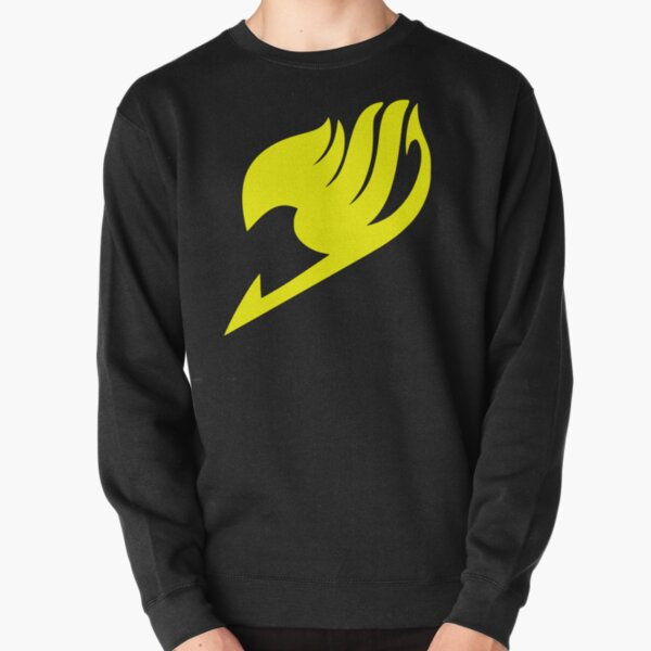 Fairy Tail Logo (Yellow) Pullover Sweatshirt RB0607 product Offical Fairy Tail Merch