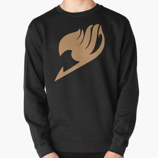 Fairy Tail Logo (Brown) Pullover Sweatshirt RB0607 product Offical Fairy Tail Merch