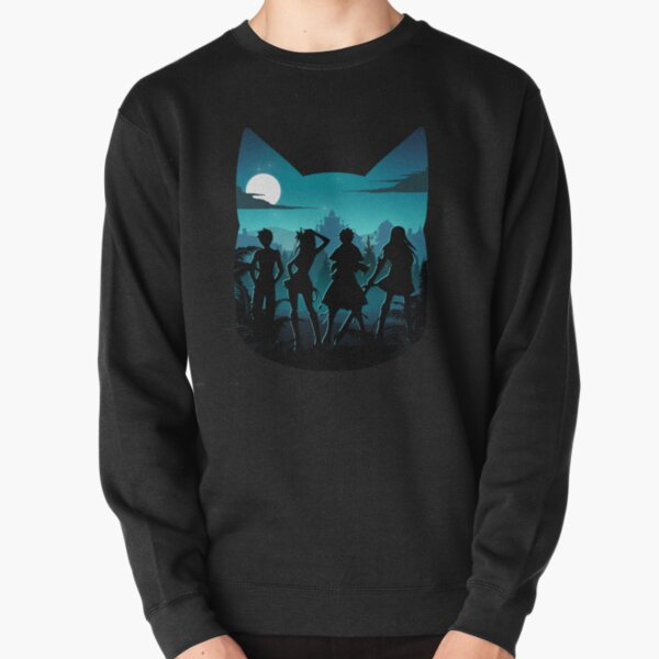 Happy Silhouette Pullover Sweatshirt RB0607 product Offical Fairy Tail Merch